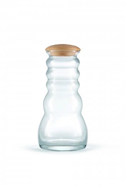 Cadus Krug 1 Liter white mit Zirbenholzdeckel
