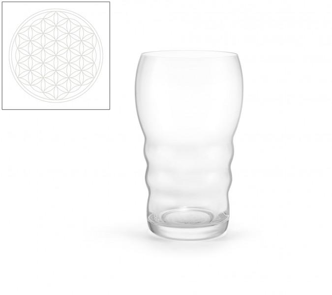 Trinkglas Galileo White