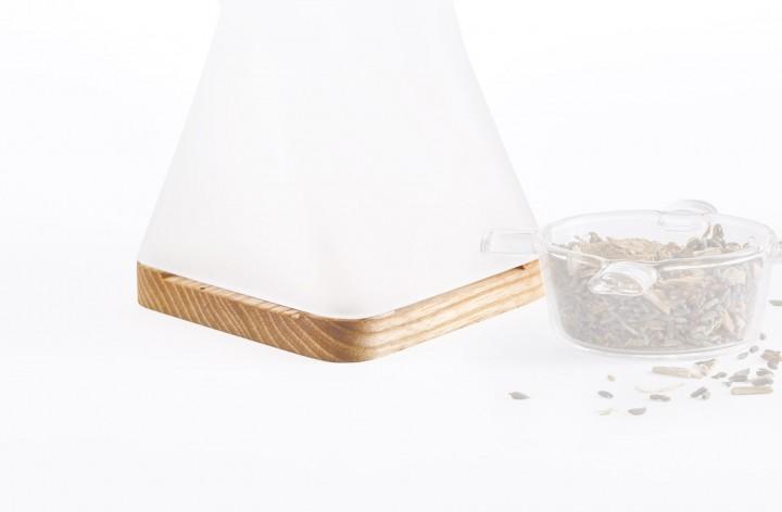 Holzsockel für Duftlampe Odoris